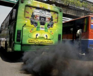 Busses all over Earth are producing  huge air pollution, life is changing