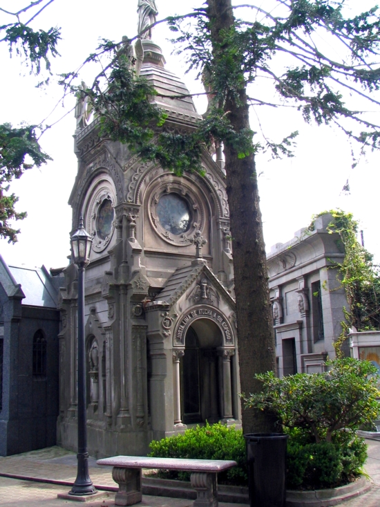 Recoleta is a very impressive cemetery in Buenos Aires