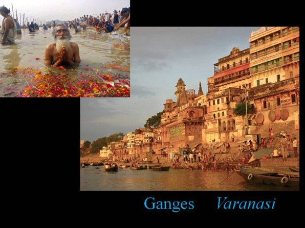 holy Ganga at Varanasi