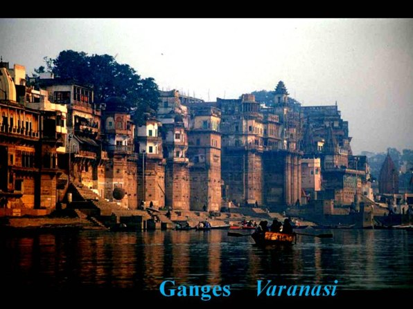 a bath in the holy Ganga at Varanasi, Ganges India