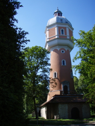 watertower in Neu-Ulm, Bavaria, Germany